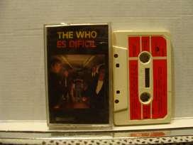 The Who - Es Difícil - Cassette ARG