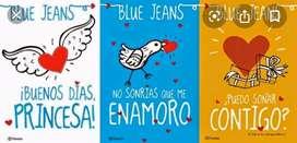 Se vende saga de libro de Blue Jeans, GANGASO