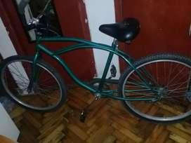 Bicicleta playera poco uso!!