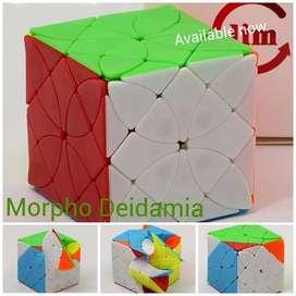 Morpho Deidamia Mariposa Skewb Copter Cubo Rubik Fangshi