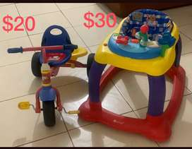 Andador para bebe - triciclo para niños