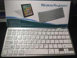 Teclado Inalámbrico/Bluetooth Tipo Mac para Celular y Computador con Obsequio