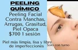 Tratamiento limpieza facial profunda