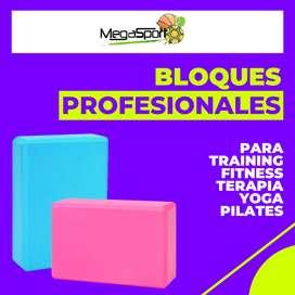Ladrillo, Bloque, o Cubo PROFESIONAL para Yoga, Pilates y Rehabilitación