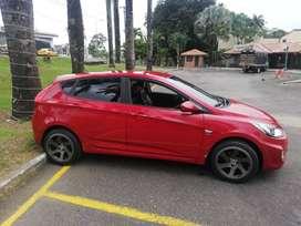 VENDO CARRO HYUNDAI I25 ACCENT HATCHBACK AUTOMATICO MOD 2012 FULL EQUIPO