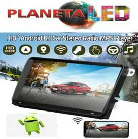 Radio 9 Pulgadas Android 8.1 Pantalla Bluetooth Gps, Mp5, Mp3.