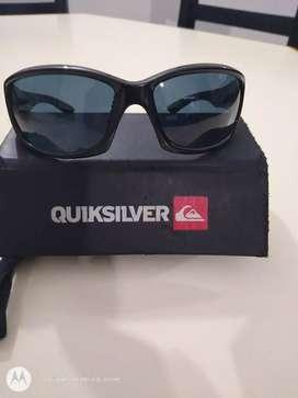 Vendo lentes de sol Quiksilver impecable estado