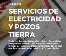 Técnico Electricista en San Miguel Pueblo libre Magdalena