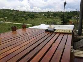 wc06 - Casa para 2 a 7 personas con cochera en Estancia Vieja