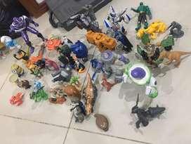 Vendo lote de muñecos de personajes