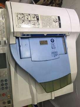 Fotocopiadora, vtirnas, laminadora y guillotina
