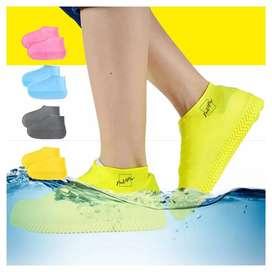 Funda protectora en silicona impermeable para zapatos lluvia