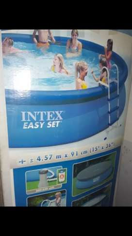Pileta Intex easy set