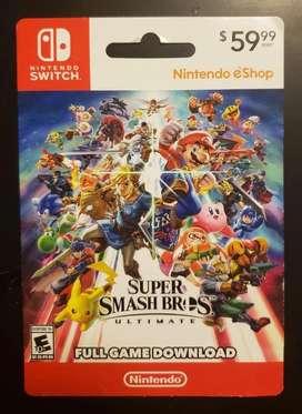Nintendo Switch Game Super Smash Bros Ultimate