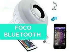Foco led rgb bluetooth
