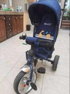 Triciclo Coche Ebaby