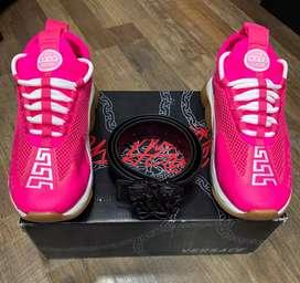 Zapatos Versace Chain Reaction Dama