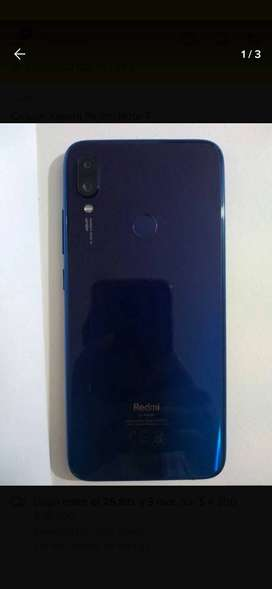 Se vende redmi note 7 perfecto estado