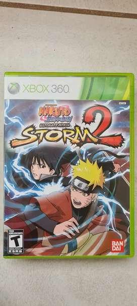 Naruto Storm 2 xbox 360 original