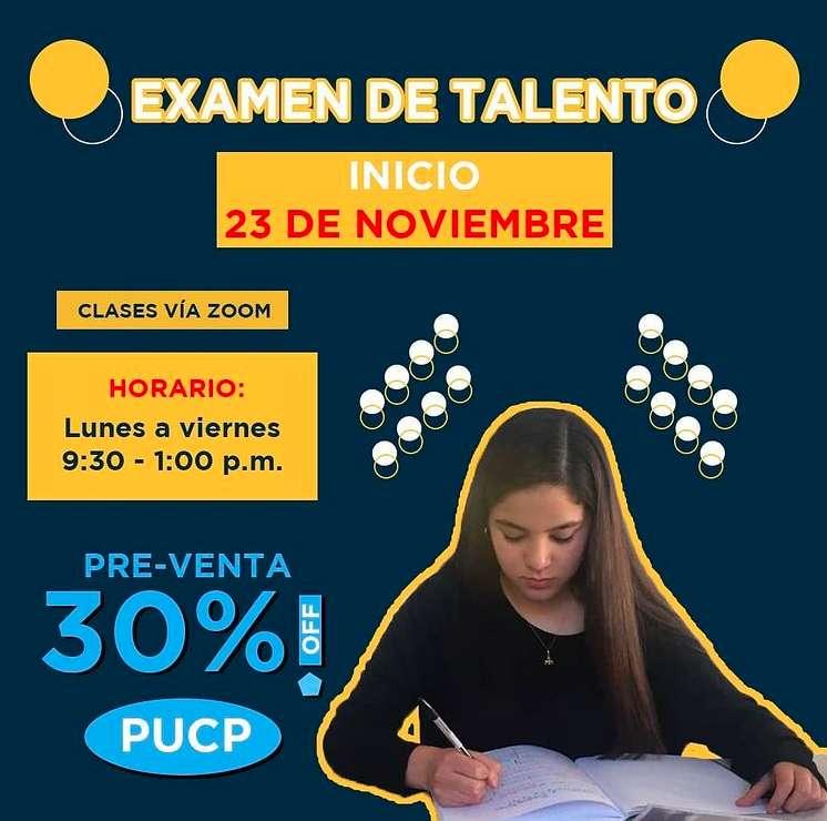 Preparación para el Examen de Talento/POP -2021-1 0