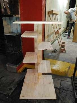 Repisas en madera