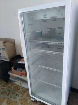 Vendo vitrina refrigerante y congeladora