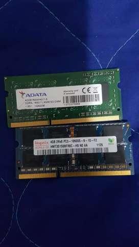 Memoria Ram 4gb Laptop Ddr3l  Pc3l 12800s 1600 Envío Gratis
