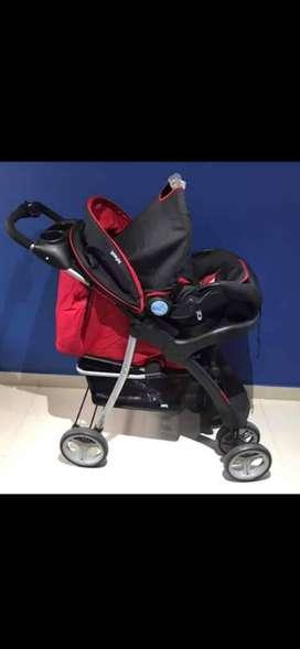 Coche infanti y silla de auto