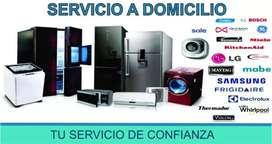 Servicio técnico de refrigeracion y lavadoras