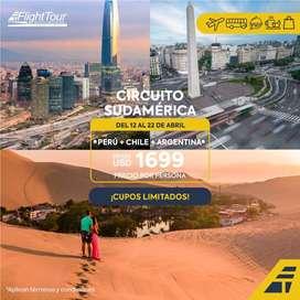 Paquete Circuito Sur America