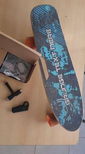 Skate electrico + accesorios - Increible