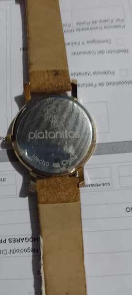 Reloj para la ocasión (platanitos)