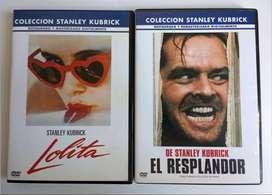 ORIGINALES - Lote 2 DVD Lolita + El resplandor de Kubrick - CDJESS