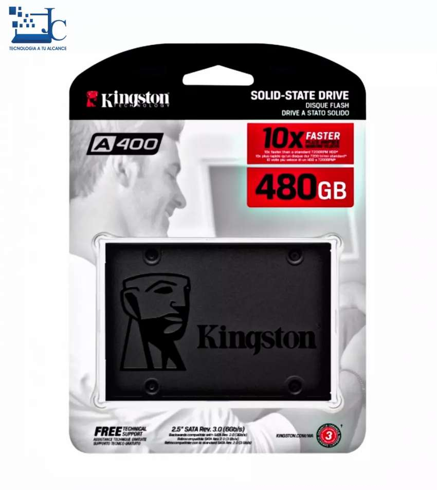 Disco sólido Kingston 480gb