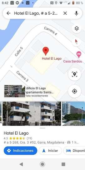 Precio negociable remato espectacular apartamento en el rodadero a una calle de la playa