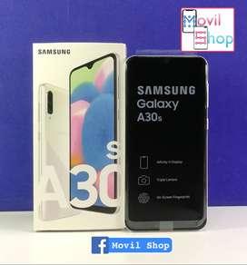 Samsung A30s 64gb 4gb Ram Pant 6.4 Cam 25mp Bat 4000 Mah