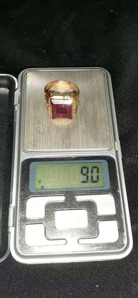 Vendo anillo oro 18k hombre