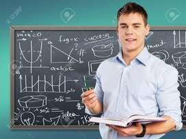Se necesita profesor para matemáticas y física
