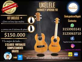 UKELELES con CLASES ON LINE