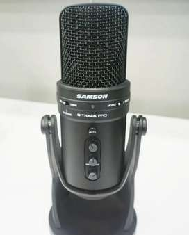 Microfono USB samson g track pro.