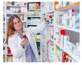 Se busca Auxiliar de farmacia