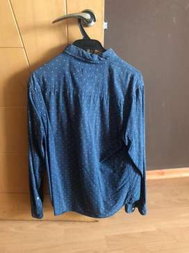 Camisa azul. Marca Aeropostale. Talla M. Como nueva Original