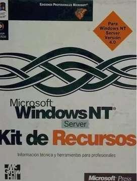 Kit de libros: Recursos Libro Windows Microsoft Windows Nt 4 Server.