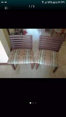 Vendo 2 sillas tipo poltronas