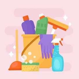 Se realizan trabajos de contrucción, pintura y limpieza profunda.
