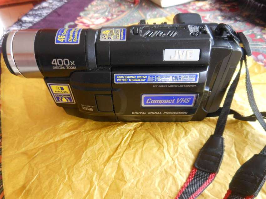Filmadora JVC 400x digital zoom 0