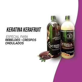 Keratina Kerafruit de Chocolate