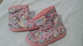Pantuflas botas unicornio