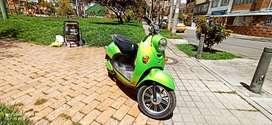 Bicicleta electrica - diseño Vespa
