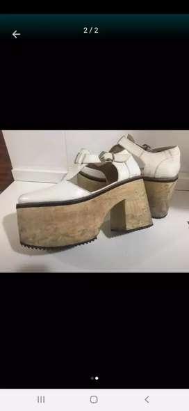 Zapatos plataforma de mujer